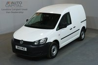 USED 2015 15 VOLKSWAGEN CADDY 1.6 C20 STARTLINE 101 BHP SWB  ONE OWNER FROM NEW, SERVICE HISTORY