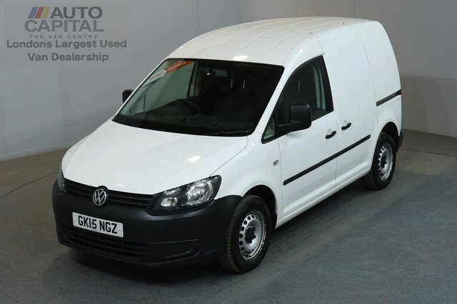 2015 15 VOLKSWAGEN CADDY 1.6 C20 STARTLINE 101 BHP SWB  ONE OWNER FROM NEW, SERVICE HISTORY