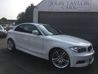 2011 BMW 1 SERIES 2.0 123D M SPORT 2d AUTO 202 BHP, ##VERY RARE IN WHITE## £SOLD