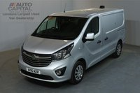USED 2016 16 VAUXHALL VIVARO 1.6 2900 SPORTIVE 114 BHP L1 H1 SWB LOW ROOF A/C ONE OWNER FROM NEW, SERVICE HISTORY