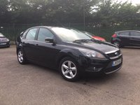 2009 FORD FOCUS 1.6 ZETEC 5d  LOW MILEAGE AND FINANCE READY  £3750.00