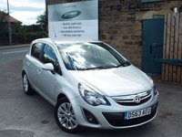 USED 2013 63 VAUXHALL CORSA 1.2 SE 5d 83 BHP One Former Owner ONLY 18k