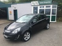 USED 2013 63 VAUXHALL CORSA 1.2 SXI AC 3d 83 BHP One Former Owner