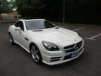 USED 2013 13 MERCEDES-BENZ SLK 2.1 SLK250 CDI BLUEEFFICIENCY AMG SPORT 2d AUTO 204 BHP ABSOLUTELY STUNNING LOW MILEAGE EXAMPLE !!