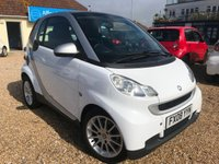 2008 SMART FORTWO 1.0 PASSION 2d AUTO 70 BHP £2995.00