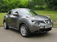 USED 2016 16 NISSAN JUKE 1.2 N-CONNECTA DIG-T 5d 115 BHP SAT NAV AND REVERSE CAMERA!!