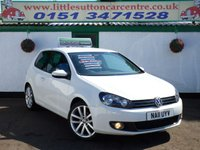 USED 2011 11 VOLKSWAGEN GOLF 2.0 GT TDI 3d 138 BHP GT TDI, FULL DEALER HISTORY, 2 OWNERS, FINANCE AVAILABLE