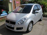 2011 SUZUKI SPLASH 1.2 GLS PLUS 5d AUTO 86 BHP £5000.00
