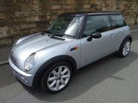 USED 2003 03 MINI HATCH COOPER 1.6 COOPER 3d 114 BHP