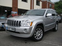 USED 2007 07 JEEP GRAND CHEROKEE 3.0 V6 CRD OVERLAND 5d AUTO 215 BHP