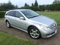 USED 2007 57 MERCEDES-BENZ R CLASS 3.5 R350 SE 5d AUTO 272 BHP Nav, FSH, DVD, Sunroof, 18' Amg Full Service History, MOT 06/19, Sat Nav, Bluetooth, 20in AMG Alloys, Sunroof, Electric Tailgate, X2 Rear DVD Screens, Hartman Kardon Sound System, Truly Stunning Example, Rear Middle Row Centre Console, Full Grey Leather Upholstery, Heated Seats, Cruise Control, Electric Adjust Steering Coloumn, Walnut Dash/Steering Wheel, Front And Rear Parking Sensors, Dual Zone Climate Aircon, Full Carpet Mat Set, Fully Electric Seats With x3 Memory Settings, X2 Keys, Recent x4 Tyres Replaced, Very Very Clea