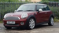 2008 MINI HATCH COOPER 1.6 COOPER 3d 118 BHP £2495.00