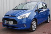 USED 2014 64 FORD B-MAX 1.6 TITANIUM TDCI 5d 96 BHP £20 PER YEAR ROAD TAX