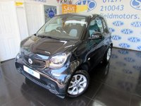 2015 SMART FORTWO 1.0 PASSION 2d 71 BHP £6495.00