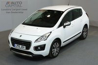 USED 2015 15 PEUGEOT 3008 1.6 BLUE HDI S/S ACTIVE 120 BHP AUTO A/C E6 2 OWNER FROM NEW, SERVICE HISTORY, EURO 6 ENGINE