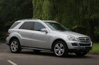 USED 2010 60 MERCEDES-BENZ M CLASS 3.0 ML350 CDI BLUEEFFICIENCY SPORT 5d AUTO 231 BHP
