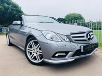 2012 MERCEDES-BENZ E CLASS 1.8 E250 CGI BLUEEFFICIENCY SPORT 2d AUTO 204 BHP £15500.00