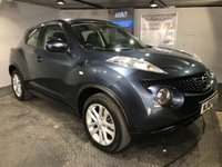 USED 2013 63 NISSAN JUKE 1.5 ACENTA DCI 5d 109 BHP Only £20 a year road tax : Bluetooth :  Cloth upholstery :  Normal/Sport/ECO mode :  Climate Control/Air-Conditioning : Cruise Control / Speed limiter   :   Isofix fittings