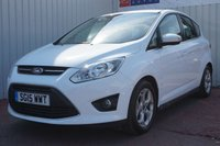 USED 2015 15 FORD C-MAX 1.6 ZETEC TDCI 5d 114 BHP £30 PER YEAR ROAD TAX