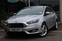 USED 2016 08 FORD FOCUS 1.0 ZETEC 5d 124 BHP