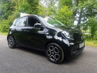 USED 2015 15 SMART FORFOUR 0.9 PRIME PREMIUM T 5d 90 BHP BUY 12 MONTH RAC WARRANTY 195.00 GET 2ND YEAR FREE !