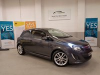 2012 VAUXHALL CORSA 1.4 SRI 3d 98 BHP £4679.00