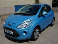 USED 2009 09 FORD KA 1.2 STYLE 3d 69 BHP 1 FORMER KEEPER +  MOT APRIL 2019 +  GREAT CONDITION +