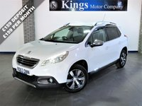 USED 2013 63 PEUGEOT 2008 1.6 E-HDI ALLURE 5dr £20 Tax, 70 MPG !,  Leather, FSH , Huge Spec, Lovely Example
