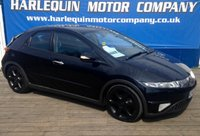 USED 2007 07 HONDA CIVIC 2.2 SPORT I-CTDI 5d 139 BHP HIGH MILES HENCE P/EX TO CLEAR IN SUPERB CONDITION THIS METALLIC BLACK HONDA CIVIC DIESEL SPORT MANUAL 5 DOOR BLACK SPORTS CLOTH INTERIOR BLACK ALLOYS AIR CON SERVICE HISTORY MUST BE VIEWED