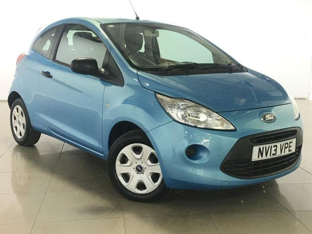 View our 2013 13 FORD KA 1.2 STUDIO 3d 69 BHP