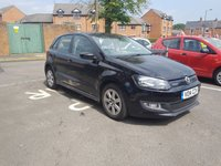 USED 2014 14 VOLKSWAGEN POLO 1.2 BLUEMOTION TDI 5d 74 BHP 83.1 MPG AVERAGE, £0 ROAD TAX, LOW INSURANCE, ALLOY WHEELS, BLUETOOTH, AUX IN, BLUETOOTH MEDIA STREAMING, AIR CON, CENTRE ARM REST