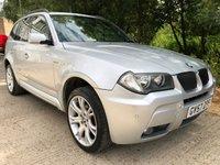 2007 BMW X3 2.0 D M SPORT 5d AUTO 175 BHP £5995.00