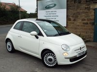 USED 2013 13 FIAT 500 1.2 LOUNGE 3d 69 BHP One Family owned from new..Low running costs only £30 Road Tax