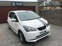 USED 2013 13 SEAT MII 1.0 SE 3d 59 BHP VERY LOW MILEAGE + ONLY £20 ROAD TAX + FSH + MOT MARCH 19 + VERY ECONOMICAL.