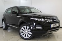 USED 2014 12 LAND ROVER RANGE ROVER EVOQUE 2.2 SD4 PRESTIGE 5DR 190 BHP LAND ROVER SERVICE HISTORY + HEATED LEATHER SEATS + SAT NAVIGATION + REVERSE CAMERA + PANORAMIC ROOF + BLUETOOTH + CRUISE CONTROL + CLIMATE CONTROL + 19 INCH ALLOY WHEELS