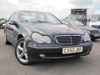 2003 MERCEDES-BENZ C CLASS 2.1 C220 CDI AVANTGARDE SE 4d AUTO 143 BHP £890.00