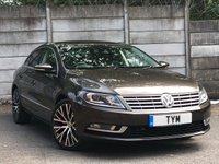 USED 2012 62 VOLKSWAGEN CC 2.0 GT TDI BLUEMOTION TECHNOLOGY 4d 138 BHP LEATHER/SAT NAV/XENON/2 OWNERS