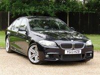 2013 BMW 5 SERIES 3.0 535D M SPORT 4d AUTO 309 BHP