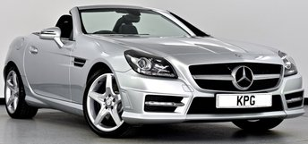 2012 MERCEDES-BENZ SLK 1.8 SLK200 BlueEFFICIENCY AMG Sport 7G-Tronic Plus 2dr £13750.00