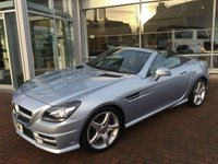 USED 2014 14 MERCEDES-BENZ SLK 2.1 SLK250 CDI BLUEEFFICIENCY AMG SPORT 2d AUTO 204 BHP