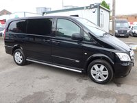 2014 MERCEDES-BENZ VITO 116 CDI SPORT LWB (160 BHP) 1 OWNER DIRECT FROM MERCEDES BENZ £10995.00