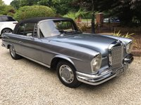 USED 1965 C MERCEDES-BENZ 220 220 SE AUTO CONVERTIBLE W111 VERY RARE 1965 MERCEDES 220SE CONVERTIBLE RHD EXCELLENT CONDITION