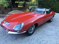 USED 1968 JAGUAR E-TYPE E TYPE ROADSTER SERIES 1.5 ROADSTER RHD VERY RARE RHD SERIES 1.5 ROADSTER IN RED WITH BLACK LEATHER BIG FILE OF RECIEPTS BILLS AND OLD MOTS MUCH SPENT RECENTLY TO MAKE THIS A USABLE RELIABLE E TYPE...CALL WITH ANY QUESTIONS