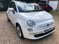 USED 2010 10 FIAT 500 1.2 LOUNGE 3d 69 BHP