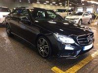 2015 MERCEDES-BENZ E CLASS 2.1 E220 BLUETEC AMG NIGHT EDITION 4d AUTO 174 BHP £17350.00