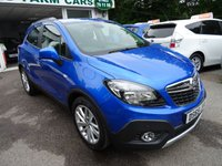 USED 2015 65 VAUXHALL MOKKA 1.6 EXCLUSIV S/S 5d 114 BHP Low Mileage, One Previous Owner, Service History, MOT until November 2018, Low Insurance Group! Private Sale