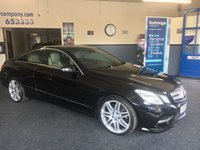 2013 MERCEDES-BENZ E CLASS 2.1 E220 CDI BLUEEFFICIENCY SPORT 2d 170 BHP £13990.00