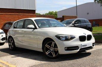 2014 BMW 1 SERIES 1.6 116I SPORT 5d 135 BHP £11450.00