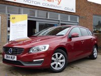2014 VOLVO V60 2.0 D4 BUSINESS EDITION 5d 178 BHP £SOLD