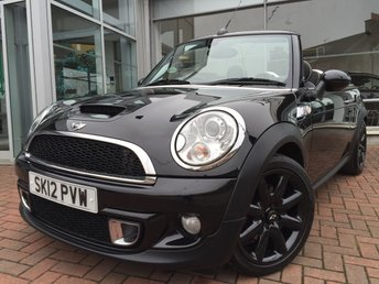 2012 MINI CONVERTIBLE 1.6 COOPER S 2d 184 BHP £10250.00